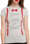 Doctor Who Bow Ties Are Cool Women's T-Shirt