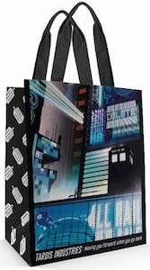 Doctor Who Tardis Industries Tote Bag