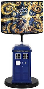 Doctor Who Exploding Tardis Table Lamp
