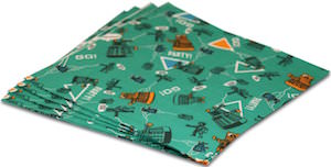 Doctor Who paper napkins