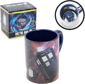 Doctor Who Appearing Tardis Coffee Mug