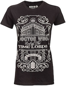 Doctor Who Time Lords Since 1963 Women's T-Shirt