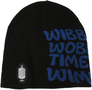 Doctor Who Wibbly Wobbly Timey Wimey Beanie Hat
