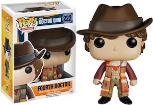 4th Doctor Who pop tv figurine number 222