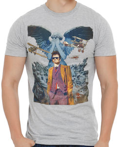 10th Doctor Comic Cover T-Shirt