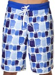 Doctor Who men's Tumbling Tardis Board Shorts