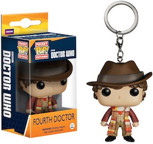4th Doctor Who Pocket Pop! Key Chain