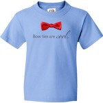 Doctor Who Kids Bow Ties Are Cool T-Shirt