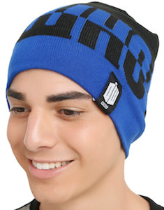 Doctor Who Split Beanie Hat