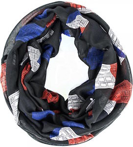 Doctor Who Union Jack Tardis Infinity Scarf