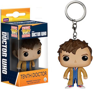 10th Doctor Who Pocket Pop Key Chain