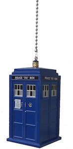 Doctor Who Tardis Ceiling Fan Pull