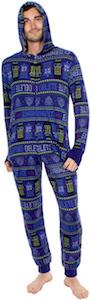 Tardis, Dalek And Cybermen Onesie Pajama