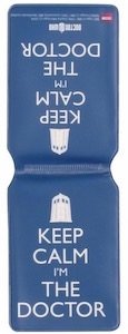 Doctor Who Keep Calm I'm The Doctor Travel Pass Holder
