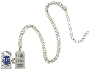 Doctor Who Tardis Bigger On The Inside Locket Necklace