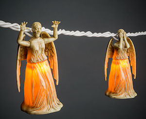 Weeping Angel String Lights