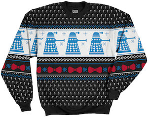 Dalek And Bowties Christmas Sweater