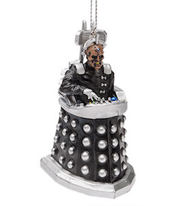 Davros Dalek Christmas Ornament