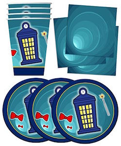 Doctor Who Party Supply Set