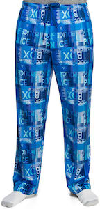 Police Box Sign Pajama Pants