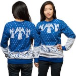 Doctor Who Weeping Angel Christmas Sweater