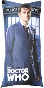 10th Doctor Body Pillow