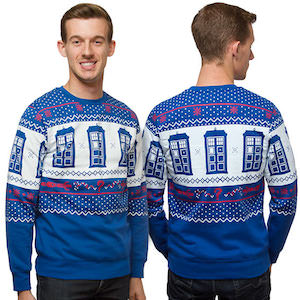 The Perfect Tardis Christmas Sweater