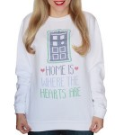 Doctor Who Home Is Where The Hearts Are Sweater