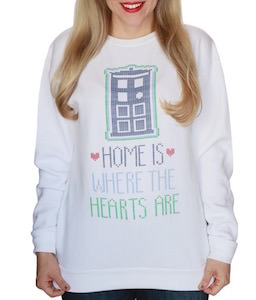 Home Is Where The Hearts Are Sweater