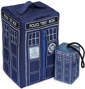 Tardis Wash Bag And Soap On A Rope