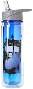Doctor Who Tardis Bad Wolf Water Bottle
