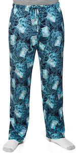Doctor Who Tardis Topographic Pajama Pants