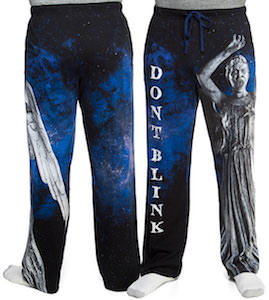 Weeping Angel Don't Blink Pajama Pants