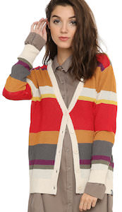 Doctor Who 4th Doctor Girls Cardigan
