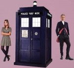 Doctor Who The Tardis, Clara And The Doctor Wall Decal Set
