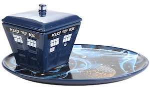 Tardis Soup And Sandwich Set