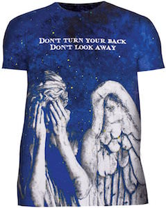 Blue Galaxy Weeping Angel T-Shirt