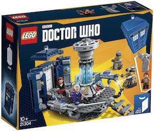 Tardis LEGO Kit 21304