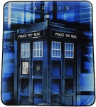 Doctor Who The Tardis Throw Blanket