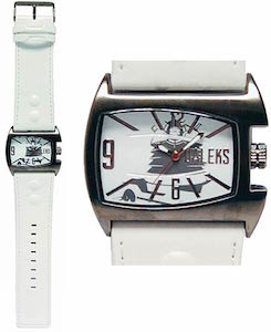 Dalek White Analog Wrist Watch