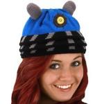 Blue Dalek Beanie Hat