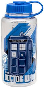 Dr Who Tardis Tritan 32 Ounce Water Bottle