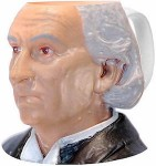 Doctor Who 1st Doctor Face Mug