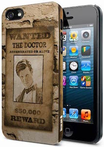 11th Doctor Wanted iPhone Case