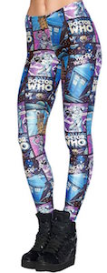 Comic Style Doctor Who Leggings
