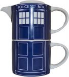 Dr Who Tardis Mug And Teapot