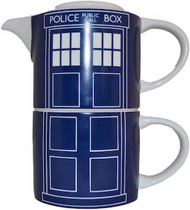 Tardis Mug And Teapot