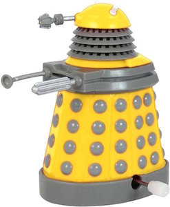 Yellow Wind Up Toy Dalek