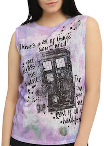 Splatter Tardis Tank Top