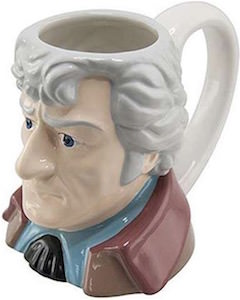 The 3rd Doctor Bust Mug